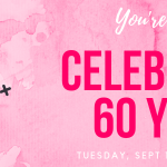 You're invited to help us celebrate 60 years of the library
