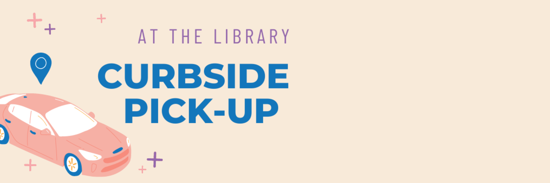 curbside pickup at the library